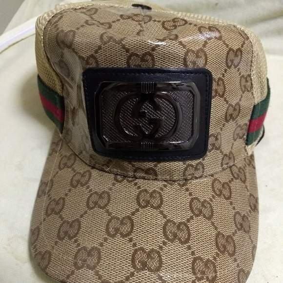Gucci Other - Unisex Gucci monogram baseball cap trucker hat 836a1ac34f43
